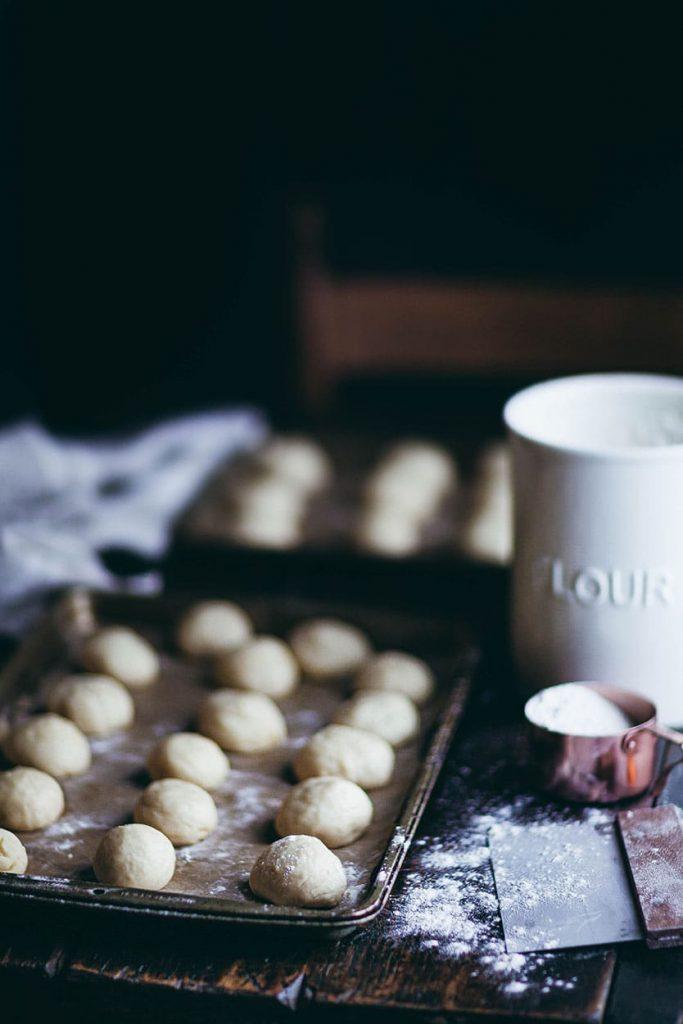 donut dough balls