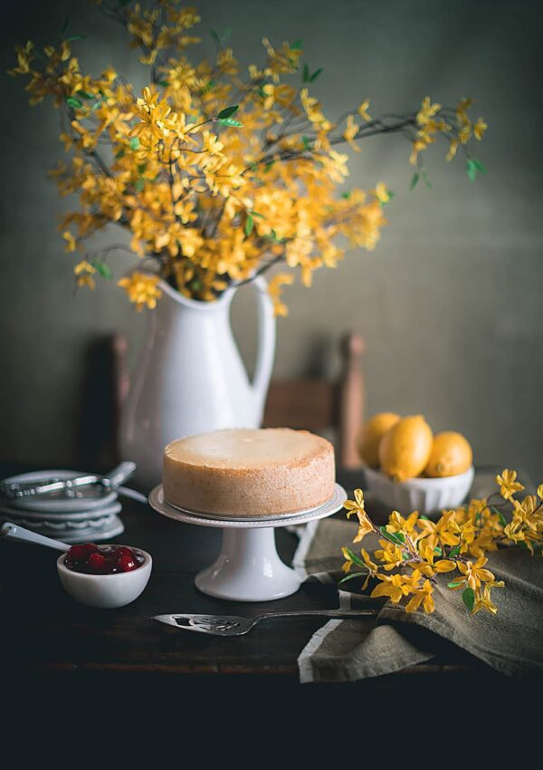 Sweet Lemon Cheesecake