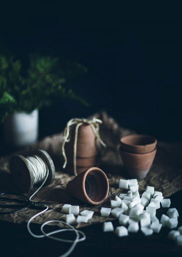 Terra Cotta Candle Pots